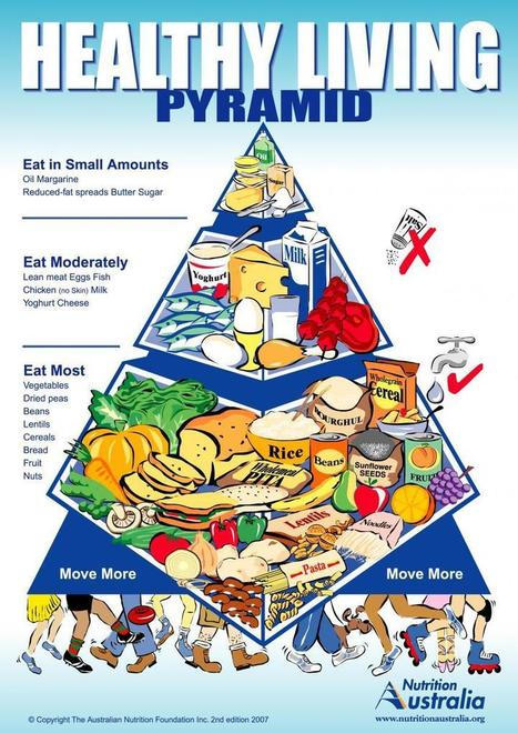 The Healthy Living Pyramid | Nutrition Australia | FOOD TECHNOLOGY  NEWS | Scoop.it