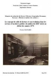 Une histoire de la salle de lecture en archives départementales | Chroniques d'antan et d'ailleurs | Scoop.it