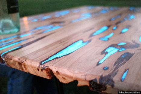 Glow-In-The-Dark Table Will Make You Want To Get Your DIY On | crea | Scoop.it