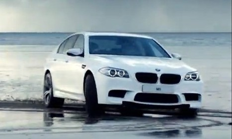 2012 BMW M5 irks Welsh seagulls with a romp in the sand | The DATZ Blast | Scoop.it