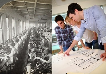 From Sewing to Analyzing: The Historical Shift in Urban Work | Geography | Scoop.it