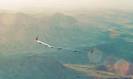 Aquila, le drone géant de Facebook a effectué son premier vol   Libertés Numériques   Scoop.it