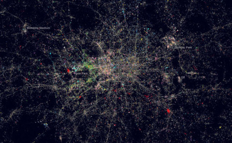 Short Sharp Science: A map of London painted in Twitter languages | News and Insights from the Marketing World | Scoop.it