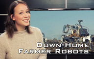 Robots Down on the Farm | Agricultural Robots | Scoop.it