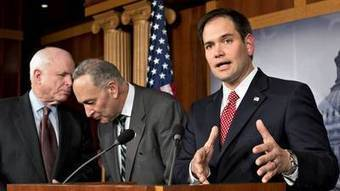 Senators agree on path to legal status for illegal immigrants   human rights   Scoop.it