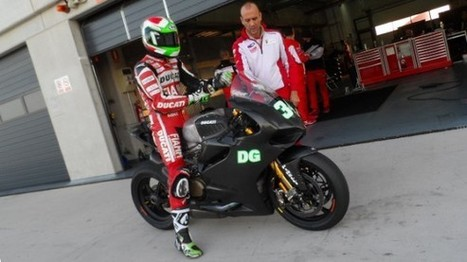 Giugliano tops the timesheets to end two-day Aragon test on a high | Ductalk Ducati News | Scoop.it