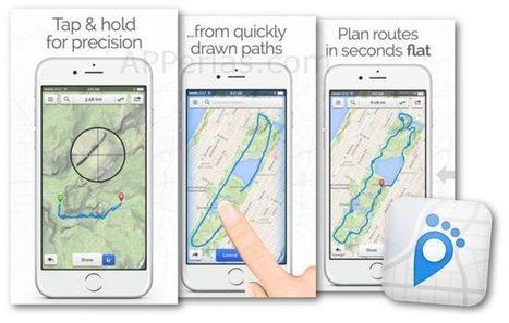 Calcular distancias de rutas realizadas con la app FOOTPATH | iPad en Educación Primaria | Scoop.it
