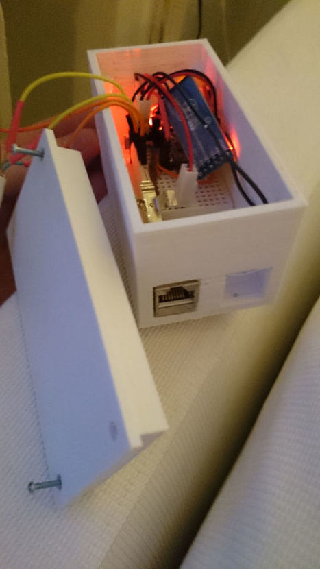 Arduino, App & 3D Printer Combined to Create Automatic Blind Opener   Raspberry Pi   Scoop.it
