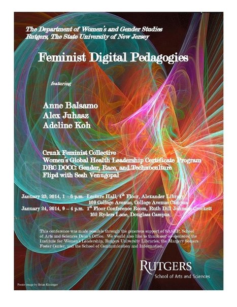 The Feminist Digital Pedagogies Conference, hosted... | Actualités | Scoop.it