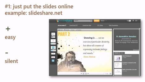 Comment on 4 Ways To Bring PowerPoint Presentations Online by Florence Dujardin | Tablet opetuksessa | Scoop.it
