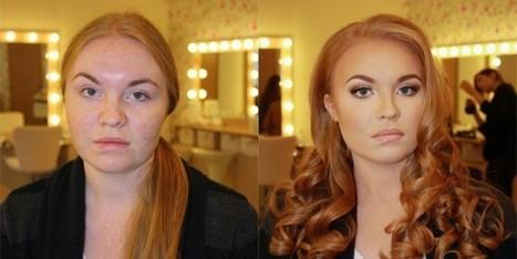 Foto Shock: il potere del makeup | Beezer | Beezer | Scoop.it