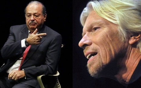Richard Branson to challenge world's richest man Carlos Slim in Mexican mobile market - Telegraph | News - AmericasAsia | Scoop.it