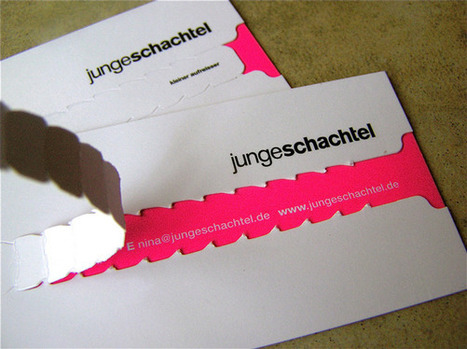 The 22 Most Creative Business Cards We've Ever Seen | Teaching Visual Communication | Scoop.it