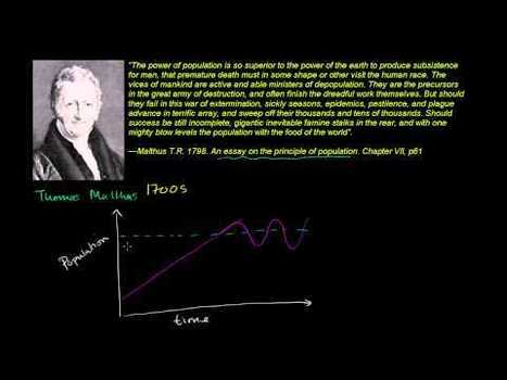 Thomas Malthus and Population Growth | IB&A Level Geography | Scoop.it