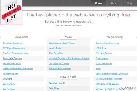Todos los #cursos gratis online desde un solo lugar | Woratek - Tecnología que te ayuda | TIC JSL | Scoop.it