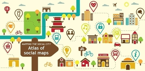 Mapping the Social City: Introducing the Atlas of Social Maps | Digital Brand Marketing | Scoop.it
