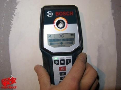 Test: Multidétecteur BOSCH GMS 120 Professional | Ma TOOL BOX | Test d'Outillage Professionnel | Scoop.it