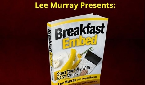 Breakfast Embed Formula WSO by Lee Murray Review – Best Methode Formula Reveal how to Build a MASSIVE authority website Use other people's content with just a TINY bit of effort and Earn money in S... | Online Business | Scoop.it