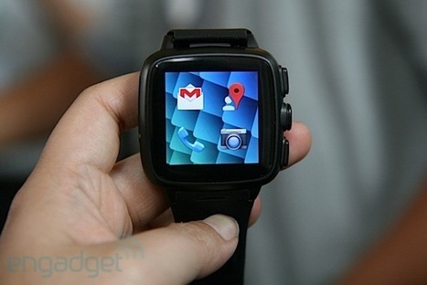 Omate TrueSmart smartwatch is also a phone, incorporates Fleksy keyboard (hands-on) | GizmoGDGT.com | Scoop.it