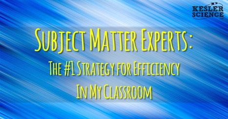 Subject Matter Experts: This 1 Tip Will Allow You To Run A More Efficient Classroom | BHS - Articles of Interest | Scoop.it