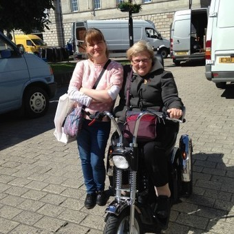 Disabled Jacqui From Northern Ireland Continues To Photograph Her Beloved Wild Birds Thanks To A Harley Davidson TGA Mobility Scooter — News — TGA Mobility | Disability and Mobility | Scoop.it