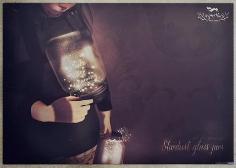 Stardust Glass Jar New Year Group Gift by vespertine | Teleport Hub - Second Life Freebies | Second Life Freebies | Scoop.it