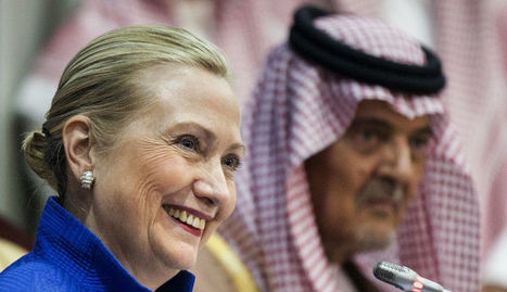 Saudis Reportedly Funding 20 Percent Of Clinton's Presidential Campaign | Liberty Revolution | Scoop.it