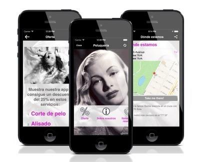 Plantillas de apps: inmobiliaria, festival de música y peluquería | Creador de apps avanzado | Scoop.it