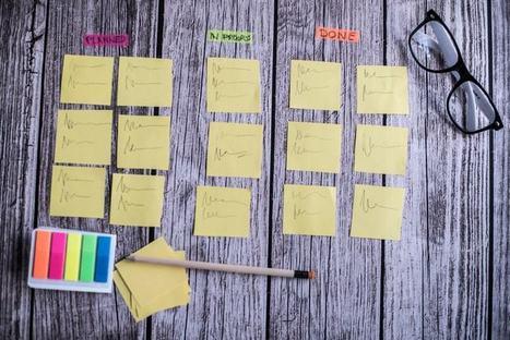 Le tableau de management visuel pour gérer mieux vos projets   Management Visuel   Scoop.it