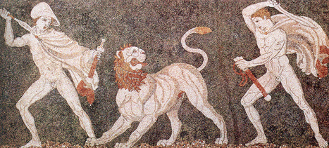 Lions in Ancient Greece - Plato's Academy, a blog about everything Greek | Classical Geek | Scoop.it