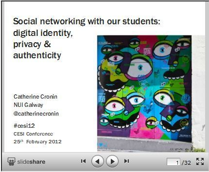 Resources for exploring digital identity, privacy and authenticity | Digital learning, literacies & identities | Scoop.it