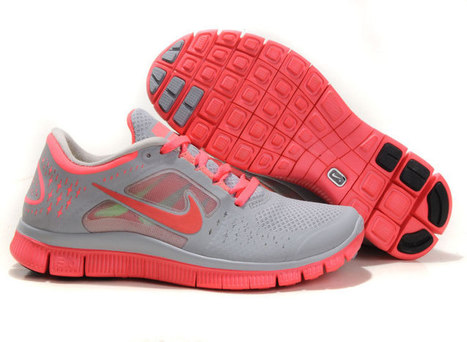 Latest Collections Nike Free Run 3 Womens Shoes Hot Punch Pink Grey | nike free pink | Scoop.it