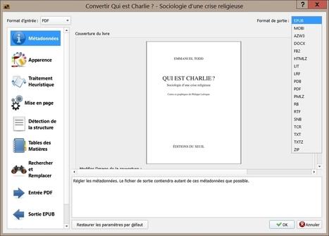 Convertir un fichier PDF au format EPUB pour votre liseuse | Informatique | Scoop.it