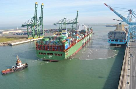 World Maritime News - First China Shipping Vessel Calls APM Terminals Zeebrugge | Port of Zeebrugge | Scoop.it