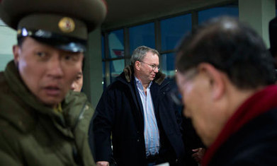 Eric Schmidt in North Korea: Google chairman's step into the unknown | MN News Hound | Scoop.it