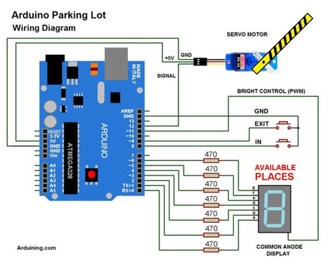 Arduino Parking Lot ( Filled ) | Tecnologia, Robotica y algo mas | Scoop.it