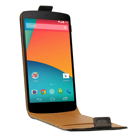 Swiss Charger – Etui Cuir Flip Noir pour Google Nexus 5 – Etui Smartphone | High-Tech news | Scoop.it