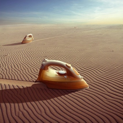 Photographer Shoots Surreal Photographs of Fantastical Scenes - DesignTAXI.com | Photospiration | Scoop.it