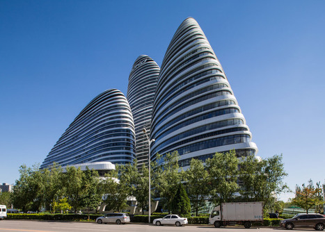 Zaha HADID completes Wangjing Soho towers in Beijing | The Architecture of the City | Scoop.it