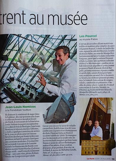 Gastronomie & culture : Les chefs des restaurants des Musées de France | Food News | Scoop.it