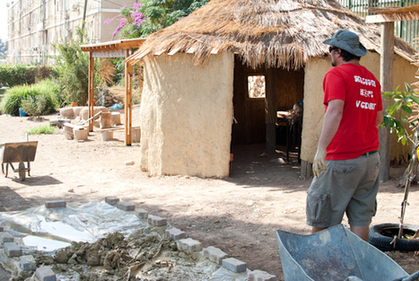 Mud Building at the Community Garden | Earth's Promise | Local Economy in Action | Scoop.it