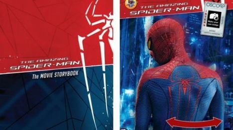Spider-Man AR Book HD Hands-On: Interactive Spidey Content for $4.99   Y.A. Australian Books for Boys   Scoop.it