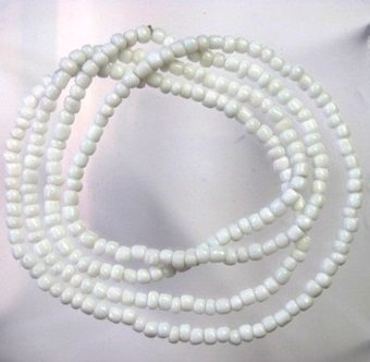 Collar De Obatala Santeria Orisha Eleke Collares Free Shipping ... | Accesorios | Scoop.it
