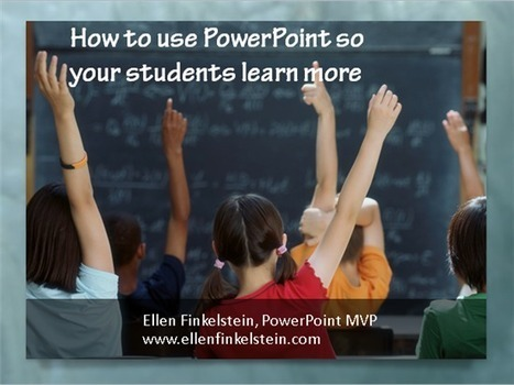 Use PowerPoint Slide Layouts to make presentations memorable | E-Learning Suggestions, Ideas, and Tips | Scoop.it