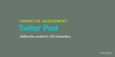 10 Formative Assessment Ideas | BeBetter | Scoop.it