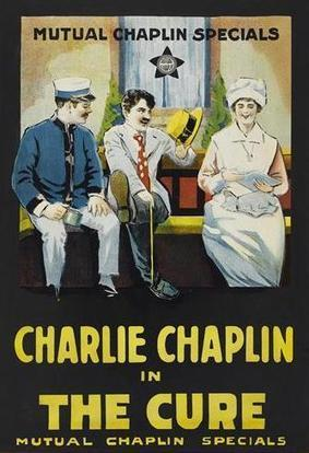 """Charlie Chaplin in """"The Cure"""" 