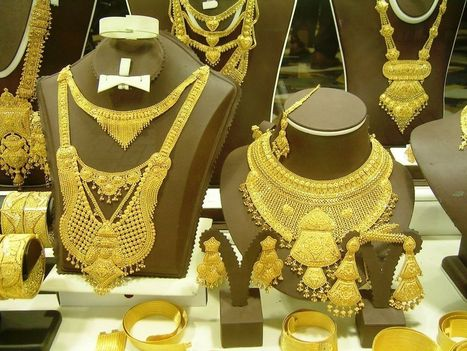 Best Gold Jewellery Designs In Dubai | Beautiful Mehndi Designs and Jewellery Collection | Scoop.it