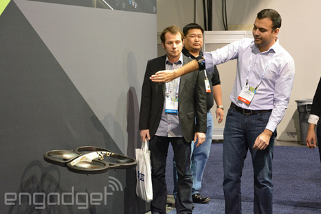 When Parrot AR.Drone meets MYO armband, magic ensues (video) | Heron | Scoop.it