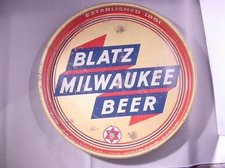 Vintage Beer Tray Blatz Milwaukee Beer Blatz Brewing Co | Antiques & Vintage Collectibles | Scoop.it