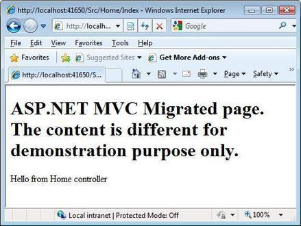 ASP.NET WebForms and ASP.NET MVC in Harmony - CodeProject | How developers can implements ASP.NET MVC validation using Fluent Validation | Scoop.it